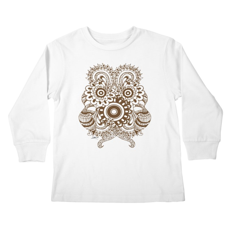 I See A Butterfly Kids Longsleeve T-Shirt by Iythar's Artist Shop