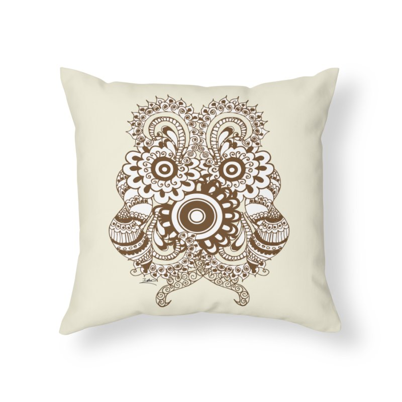 I See A Butterfly Home Throw Pillow by Iythar's Artist Shop