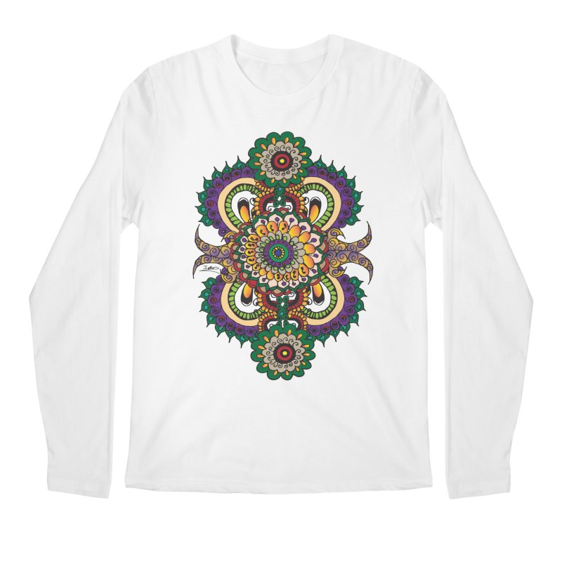 Indian Summer Men's Regular Longsleeve T-Shirt by Iythar's Artist Shop