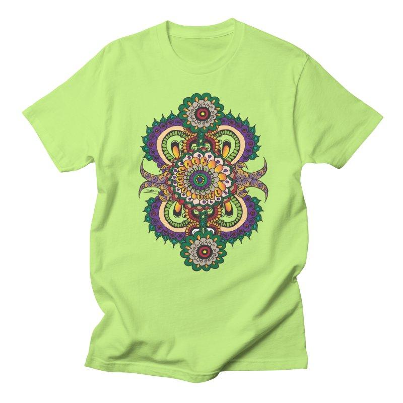 Indian Summer Men's Regular T-Shirt by Iythar's Artist Shop