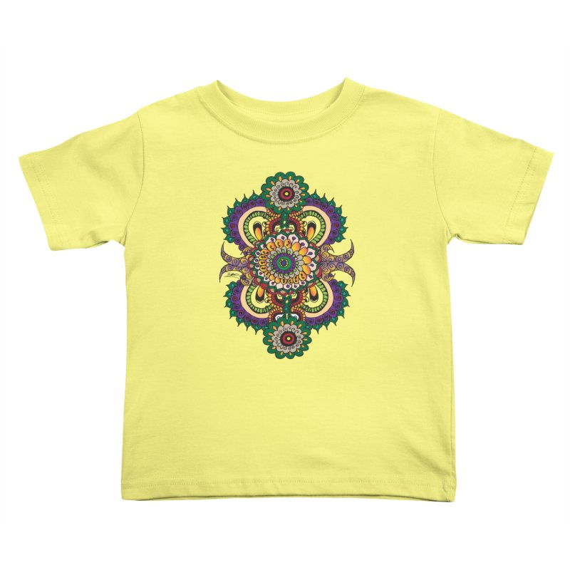 Indian Summer Kids Toddler T-Shirt by Iythar's Artist Shop