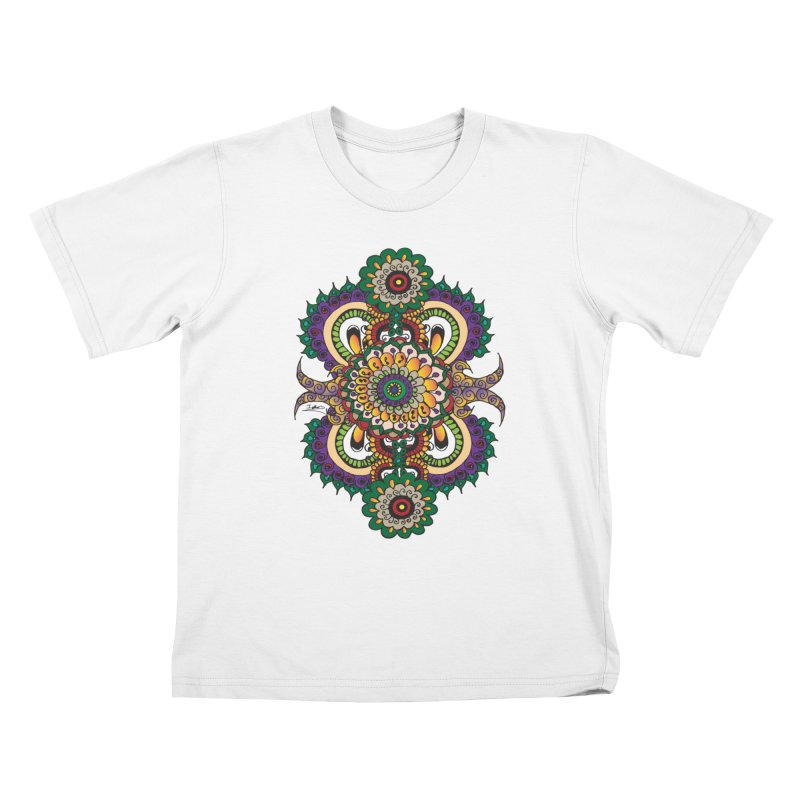 Indian Summer Kids T-shirt by Iythar's Artist Shop
