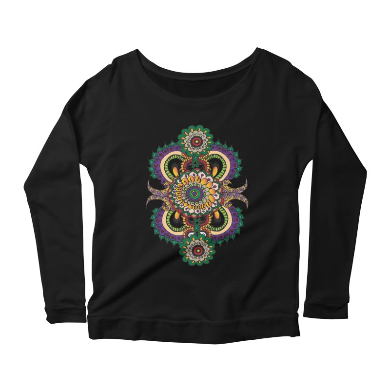 Indian Summer Women's Scoop Neck Longsleeve T-Shirt by Iythar's Artist Shop