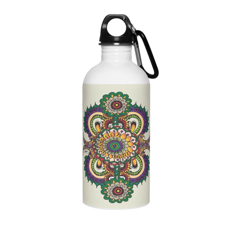 Indian Summer Accessories Water Bottle by Iythar's Artist Shop