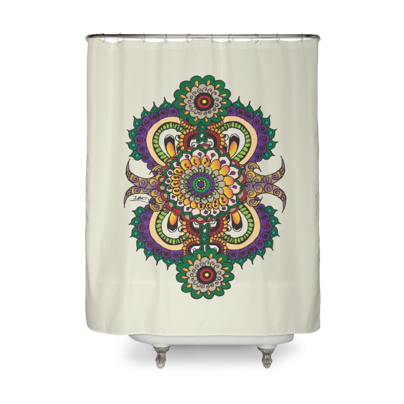 Indian Summer Home Shower Curtain by Iythar's Artist Shop