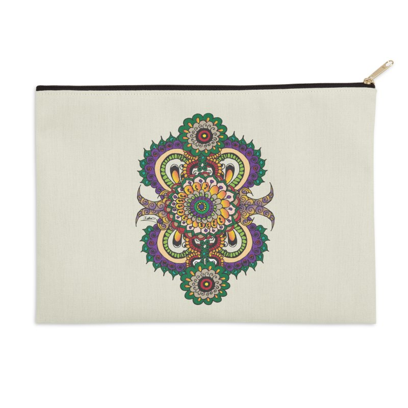 Indian Summer Accessories Zip Pouch by Iythar's Artist Shop