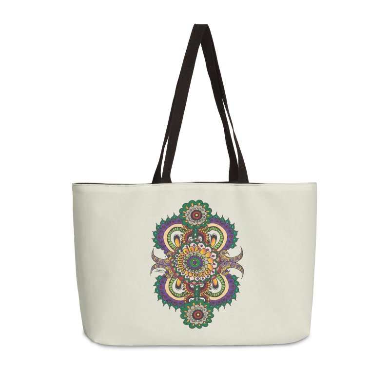 Indian Summer Accessories Weekender Bag Bag by Iythar's Artist Shop