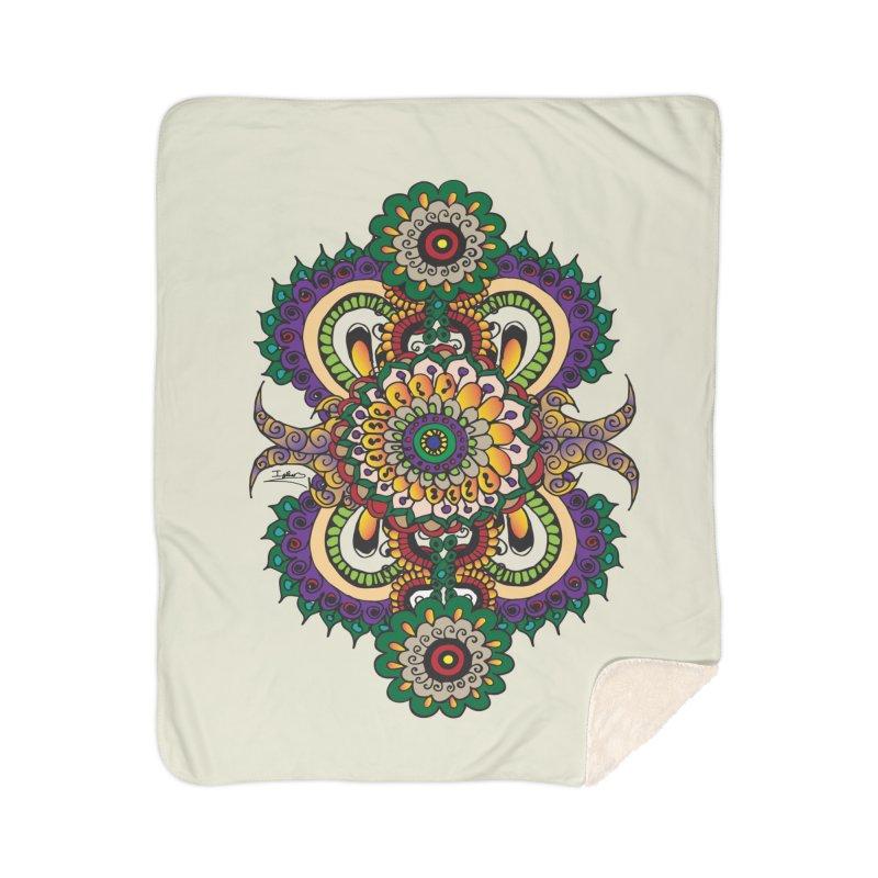 Indian Summer Home Sherpa Blanket Blanket by Iythar's Artist Shop