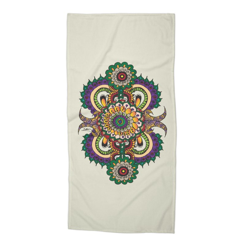 Indian Summer Accessories Beach Towel by Iythar's Artist Shop