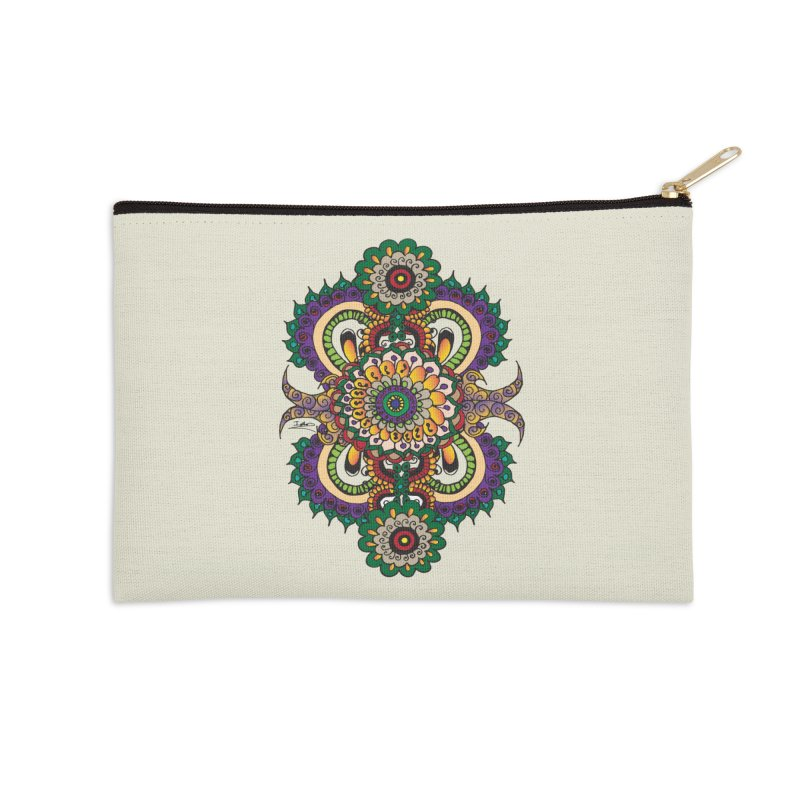 Indian Summer Accessories Zip Pouch by Iythar's Artist Shop