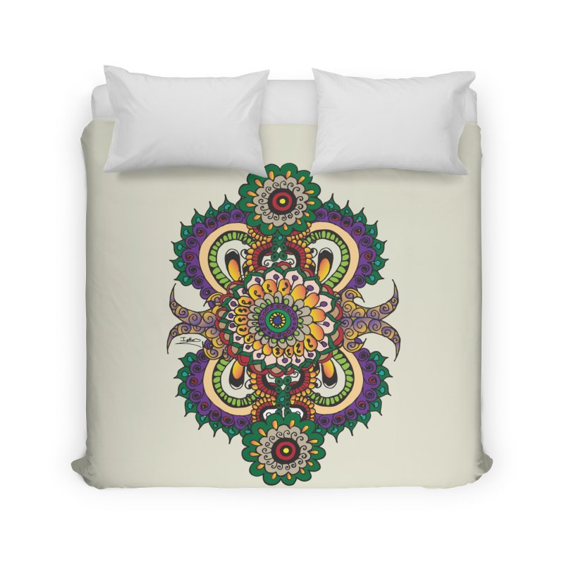 Indian Summer Home Duvet by Iythar's Artist Shop