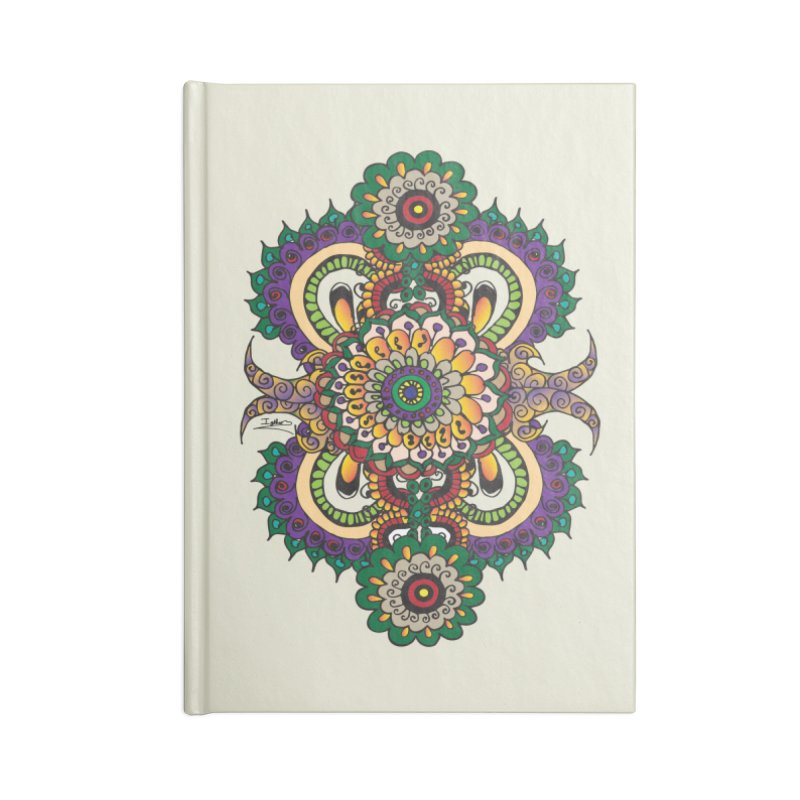 Indian Summer Accessories Lined Journal Notebook by Iythar's Artist Shop