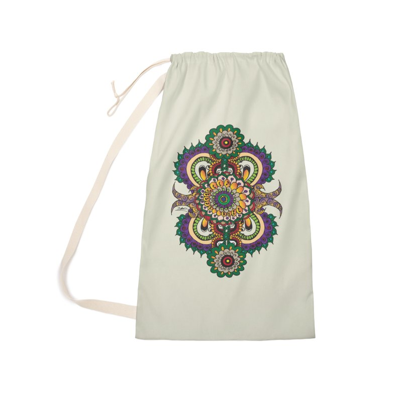 Indian Summer Accessories Laundry Bag Bag by Iythar's Artist Shop
