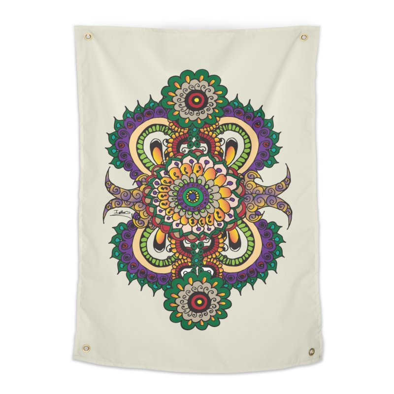 Indian Summer Home Tapestry by Iythar's Artist Shop