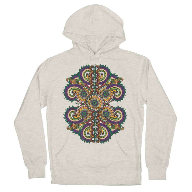 Chakras On LSD Women's French Terry Pullover Hoody by Iythar's Artist Shop