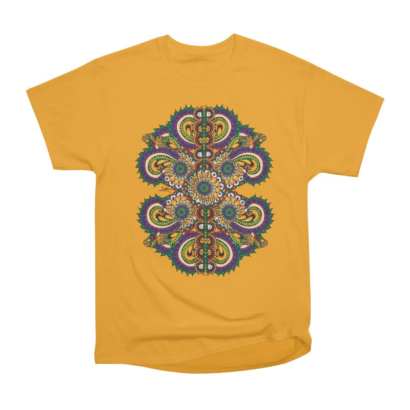 Chakras On LSD Women's Heavyweight Unisex T-Shirt by Iythar's Artist Shop