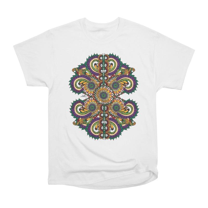 Chakras On LSD Women's Heavyweight Unisex T-Shirt by Iythar's Artist Shop