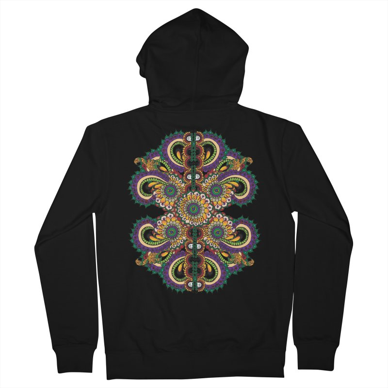 Chakras On LSD Women's Zip-Up Hoody by Iythar's Artist Shop