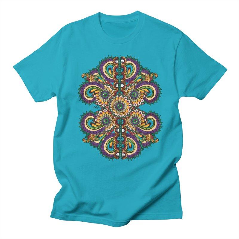 Chakras On LSD Men's Regular T-Shirt by Iythar's Artist Shop