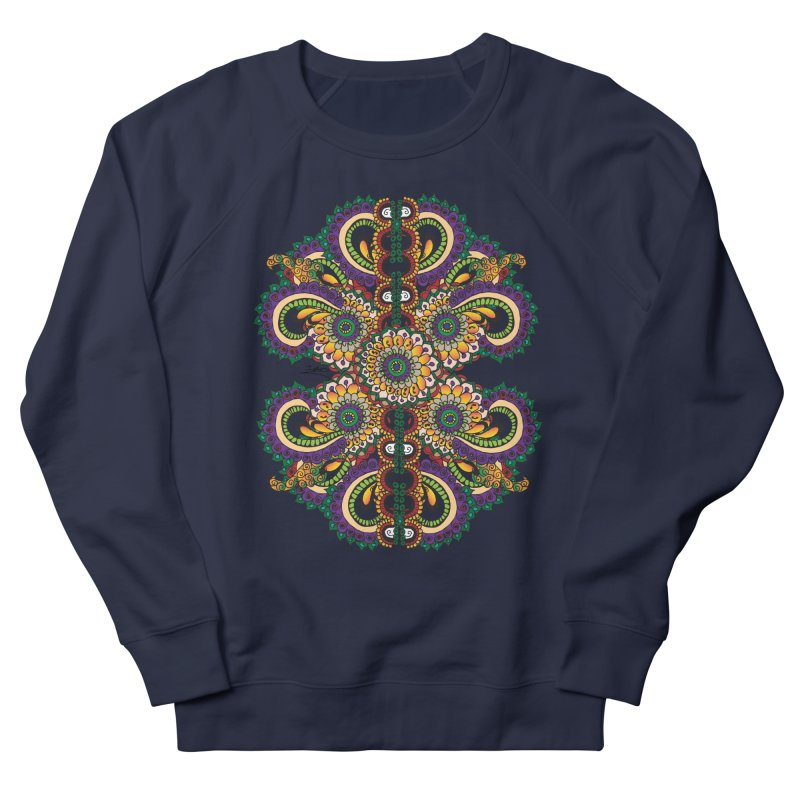 Chakras On LSD Women's French Terry Sweatshirt by Iythar's Artist Shop