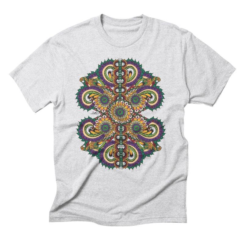 Chakras On LSD Men's Triblend T-Shirt by Iythar's Artist Shop