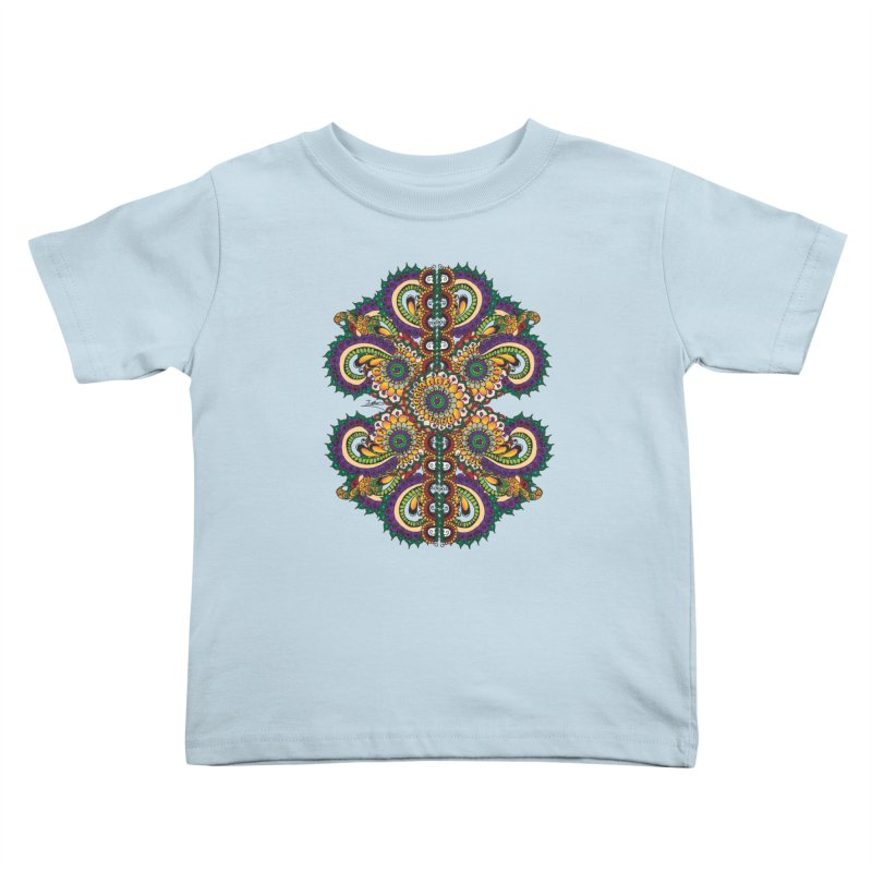Chakras On LSD Kids Toddler T-Shirt by Iythar's Artist Shop