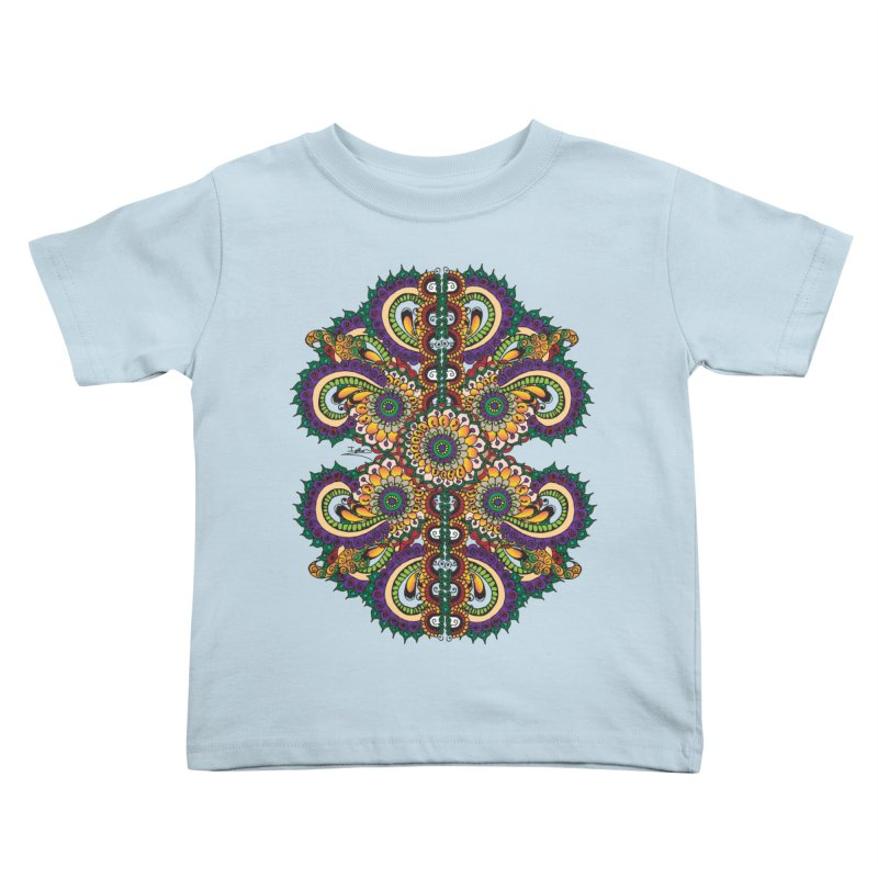 Chakras On LSD Kids Toddler T-Shirt by Iythar's Artist Shop