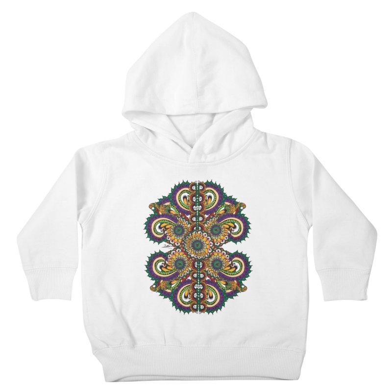 Chakras On LSD Kids Toddler Pullover Hoody by Iythar's Artist Shop