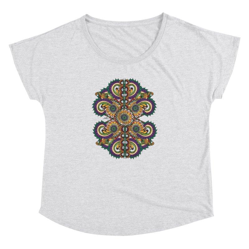 Chakras On LSD Women's Dolman Scoop Neck by Iythar's Artist Shop