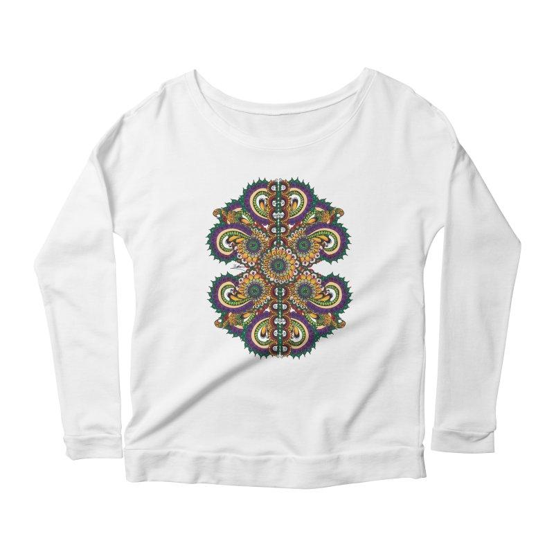 Chakras On LSD Women's Longsleeve T-Shirt by Iythar's Artist Shop
