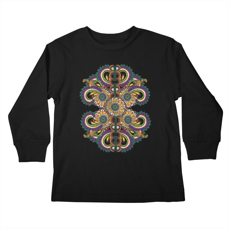 Chakras On LSD Kids Longsleeve T-Shirt by Iythar's Artist Shop