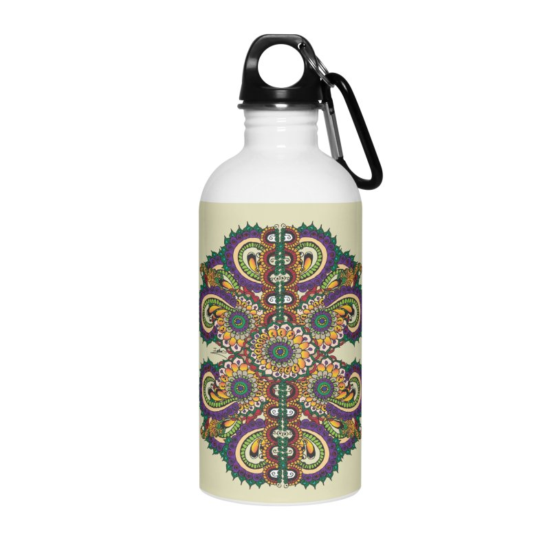 Chakras On LSD Accessories Water Bottle by Iythar's Artist Shop