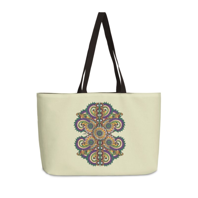 Chakras On LSD Accessories Weekender Bag Bag by Iythar's Artist Shop