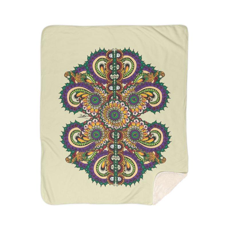 Chakras On LSD Home Sherpa Blanket Blanket by Iythar's Artist Shop