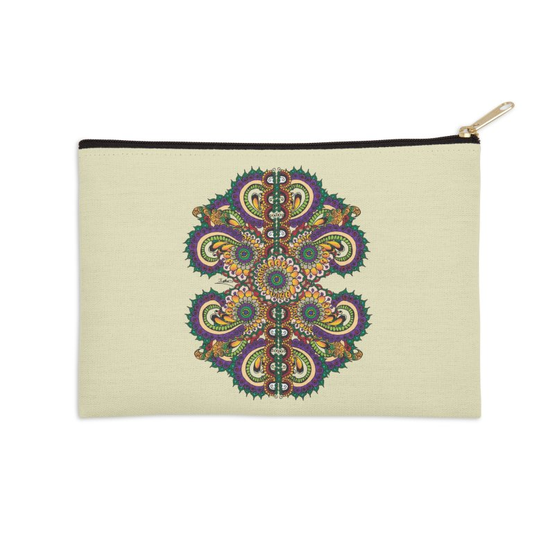 Chakras On LSD Accessories Zip Pouch by Iythar's Artist Shop
