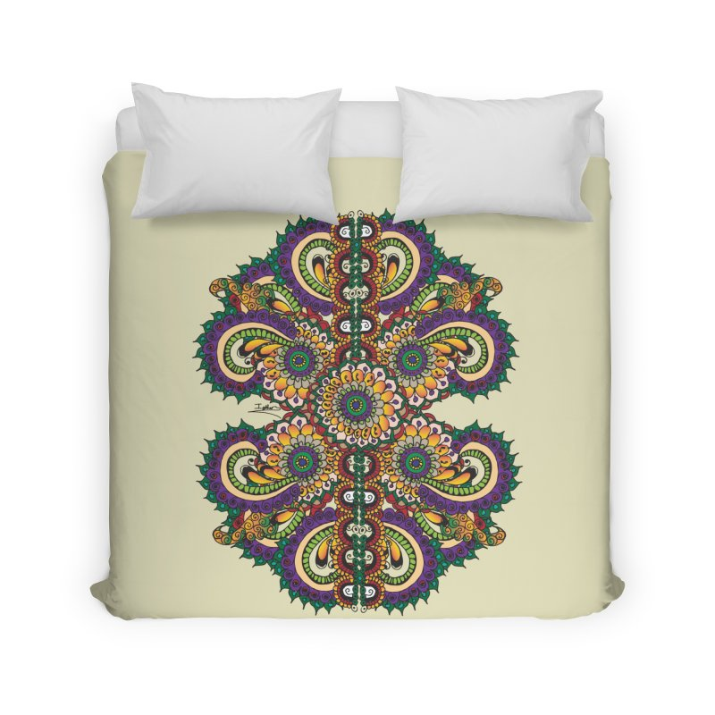 Chakras On LSD Home Duvet by Iythar's Artist Shop