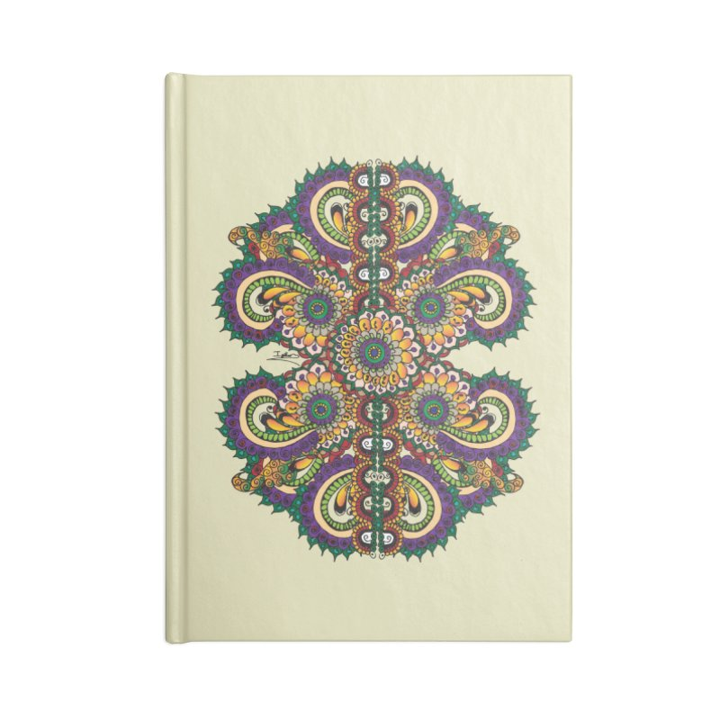 Chakras On LSD Accessories Lined Journal Notebook by Iythar's Artist Shop