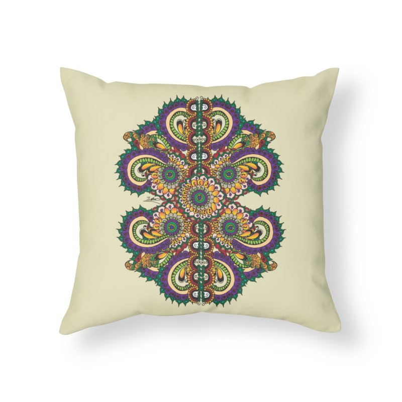 Chakras On LSD Home Throw Pillow by Iythar's Artist Shop
