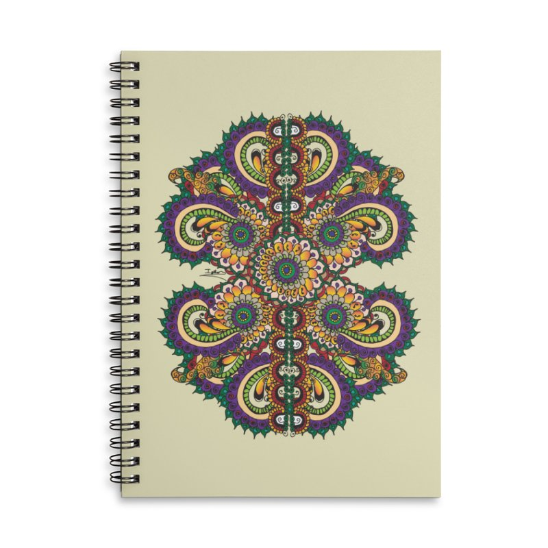 Chakras On LSD Accessories Lined Spiral Notebook by Iythar's Artist Shop