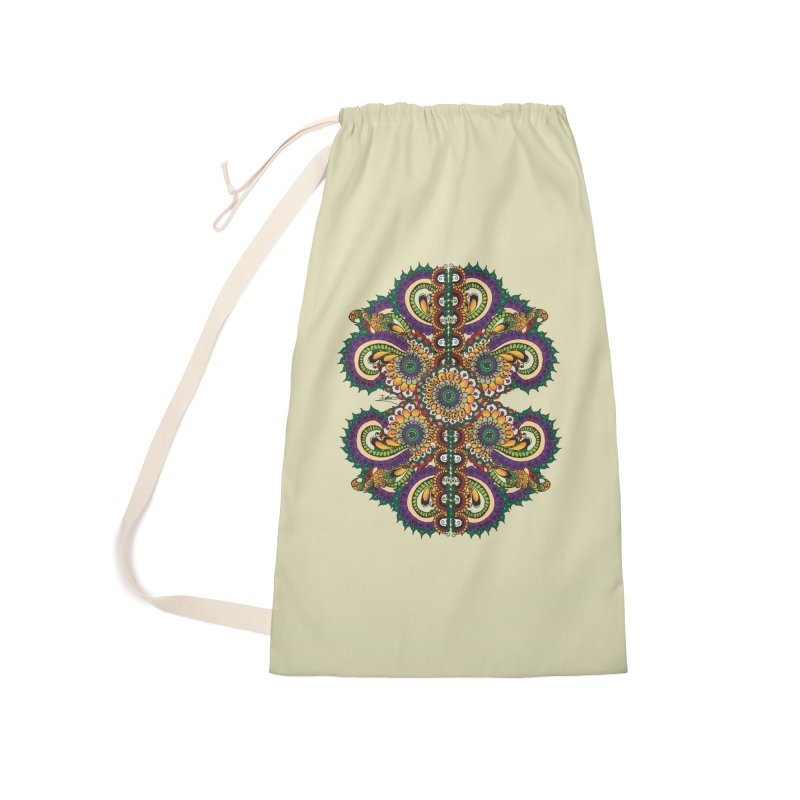 Chakras On LSD Accessories Laundry Bag Bag by Iythar's Artist Shop