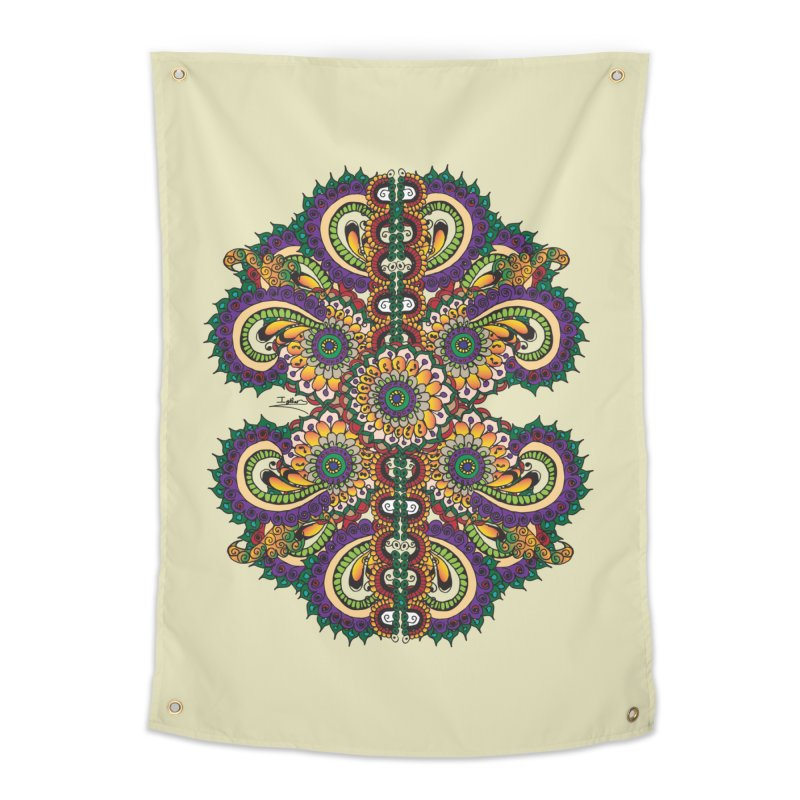 Chakras On LSD Home Tapestry by Iythar's Artist Shop