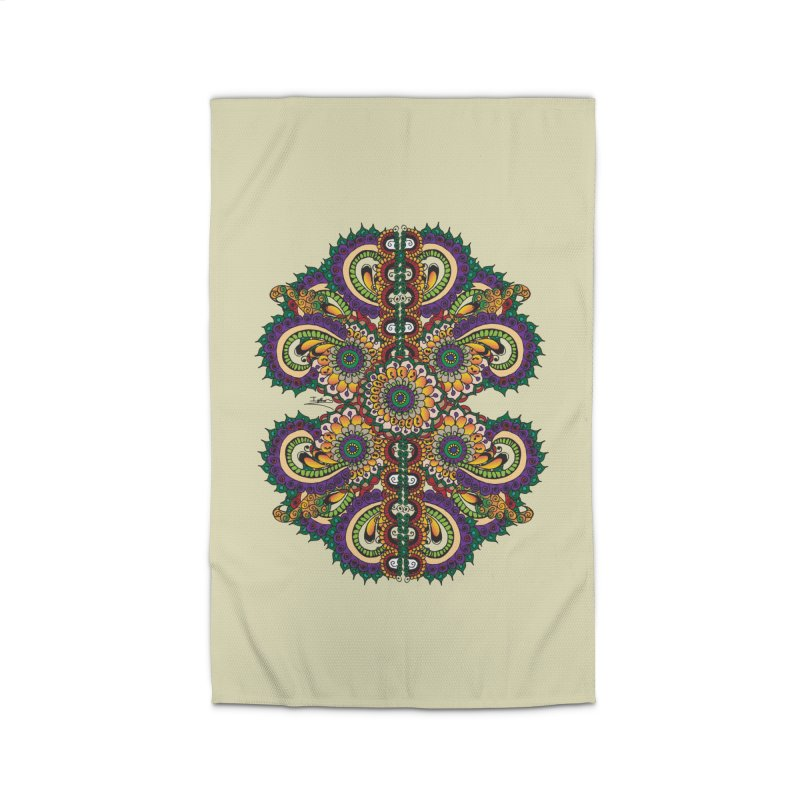 Chakras On LSD Home Rug by Iythar's Artist Shop