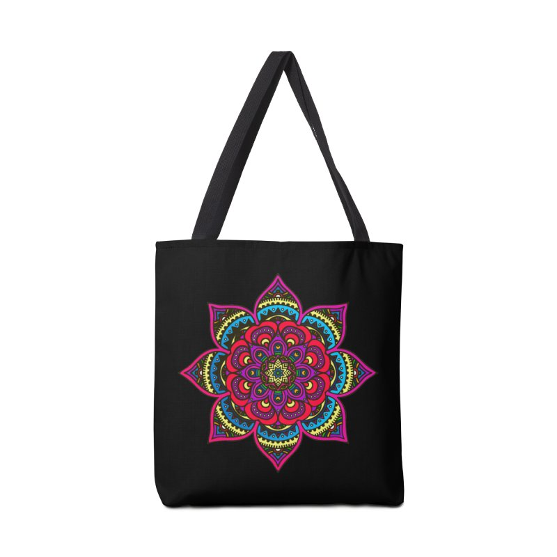 Mandala couleur in Tote Bag by Izfromearth's Artist Shop
