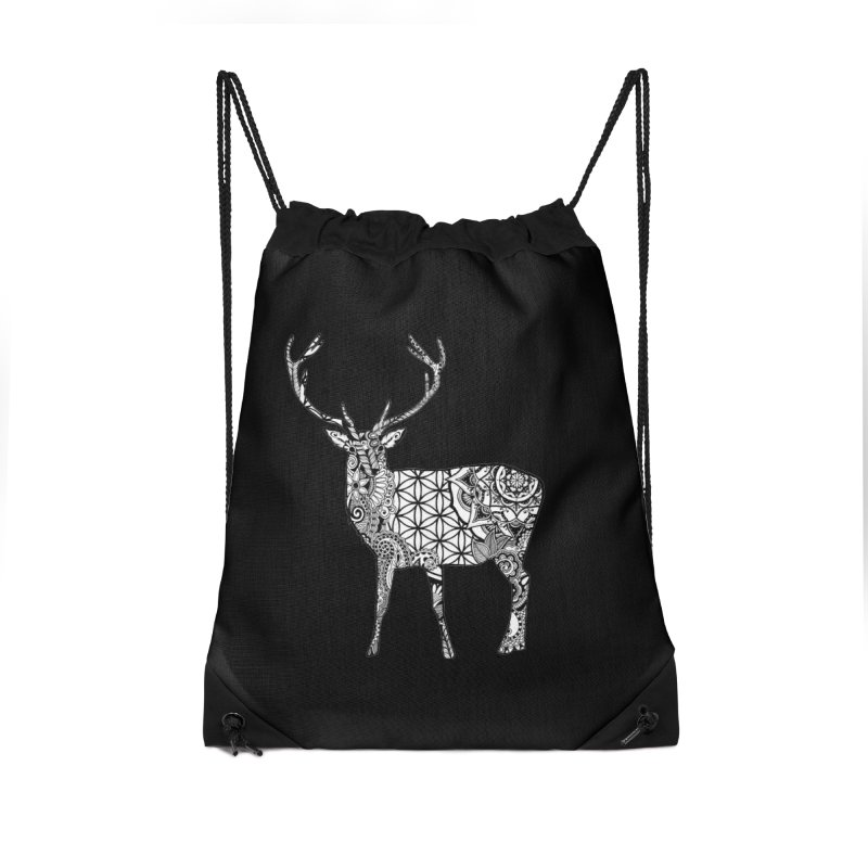 Chevreuil in Drawstring Bag by Izfromearth's Artist Shop