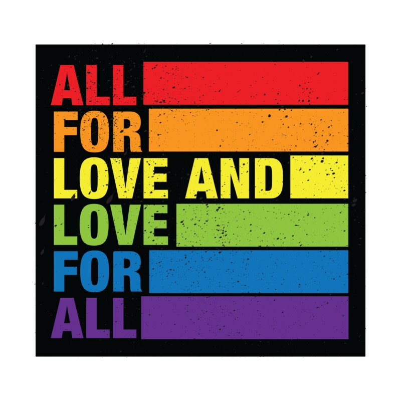 Love For All Men's T-Shirt by J3's Artist Shop