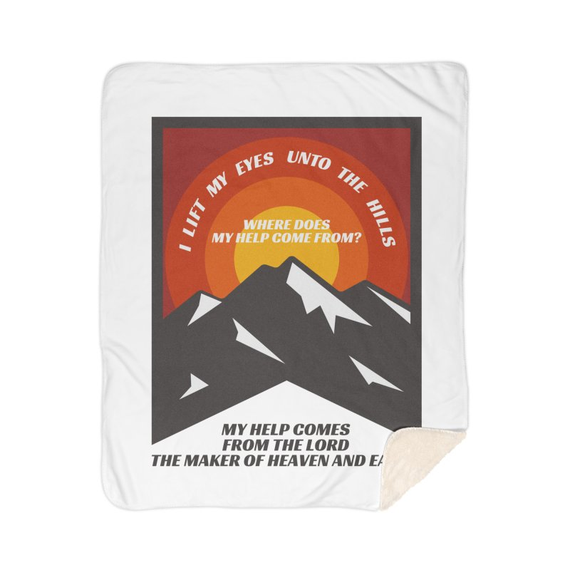 I Lift My Eyes Home Blanket by JARED CRAFT's Artist Shop