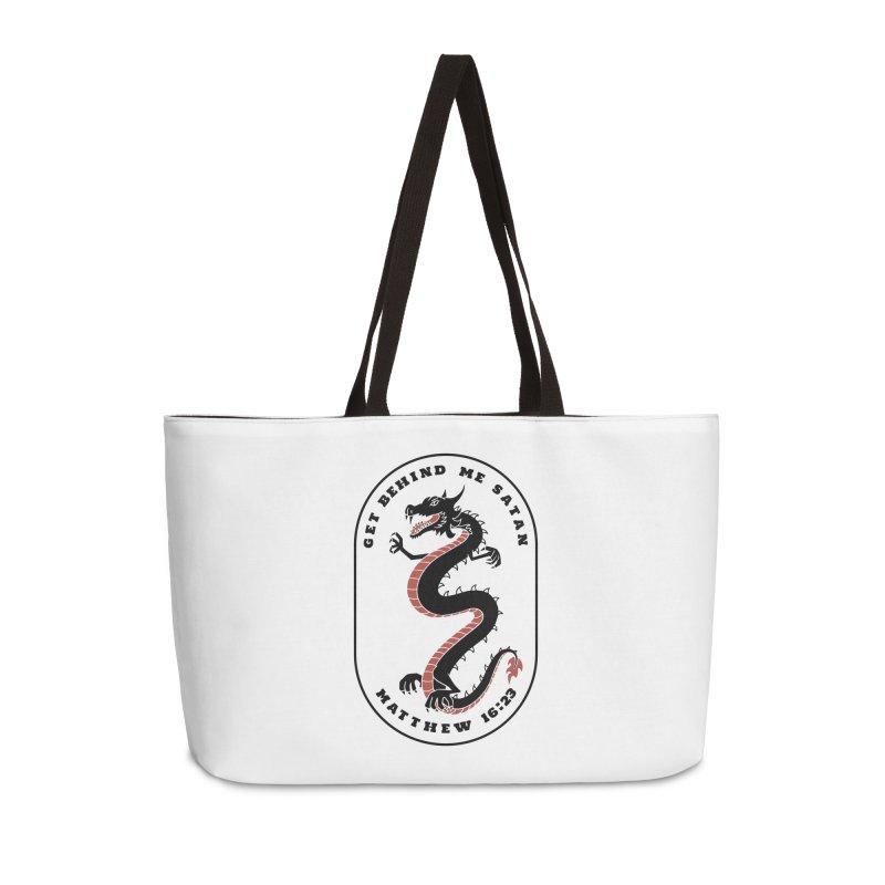 Get Behind Me Satan Accessories Bag by JARED CRAFT's Artist Shop