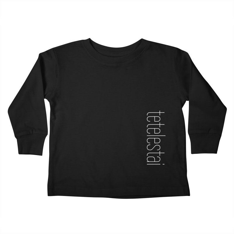Tetelestai (White) Kids Toddler Longsleeve T-Shirt by JARED CRAFT's Artist Shop