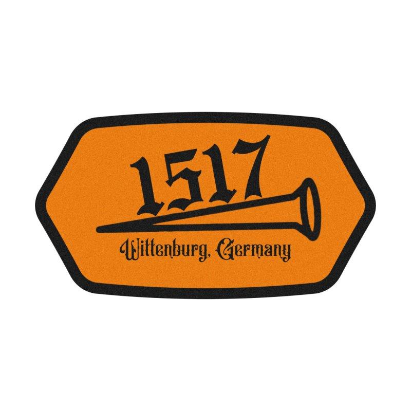 1517 (Orange) Accessories Skateboard by JARED CRAFT's Artist Shop