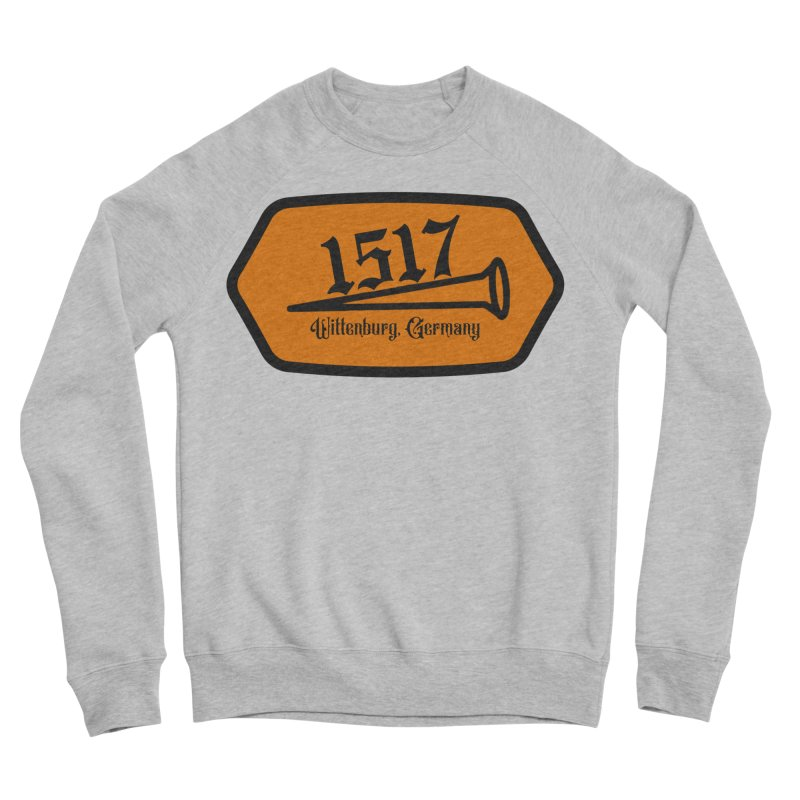 1517 (Orange) Men's Sweatshirt by JARED CRAFT's Artist Shop